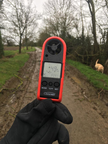 ClimeMET CM2030 Handheld Anemometer Out In The Field