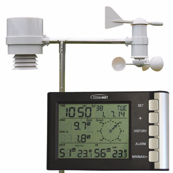 CM2026 Wireless Home Weather Station - ClimeMET