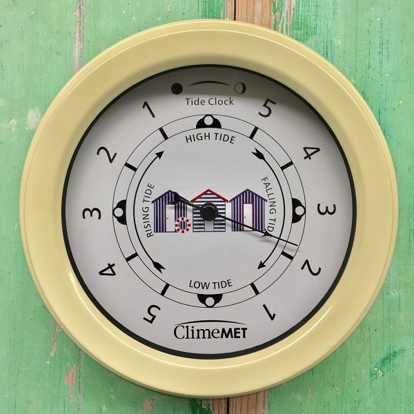 CM4510 Coastal Beach Huts Tide Clock
