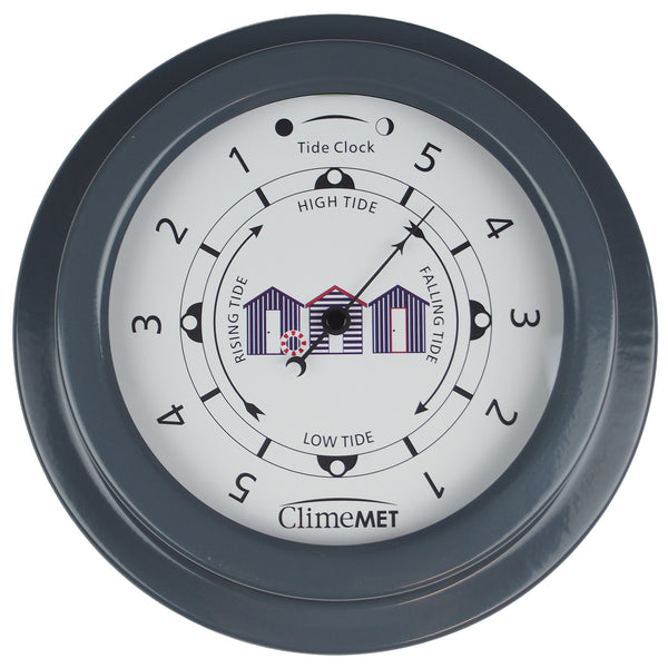 CM4510 Coastal Beach Huts Tide Clock - ClimeMET