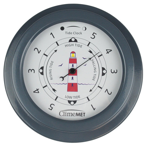 CM4520 Red Lighthouse Tide Clock