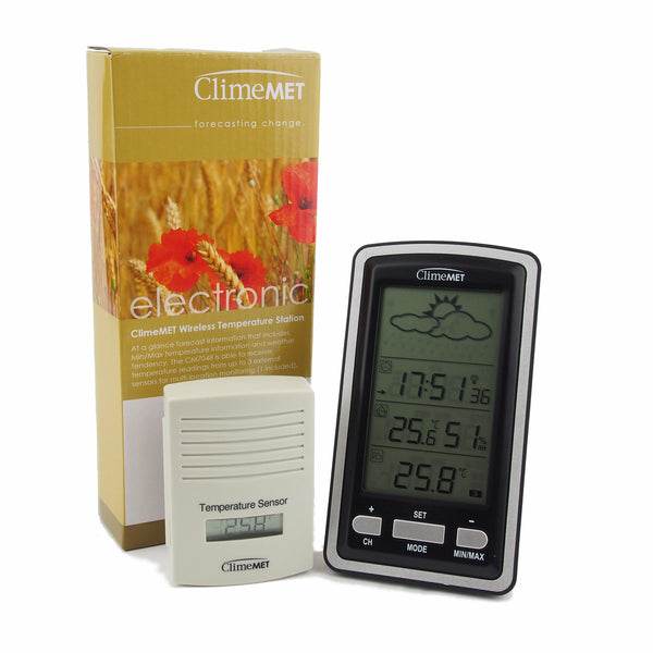 CM7048 Wireless Temperature Station - ClimeMET