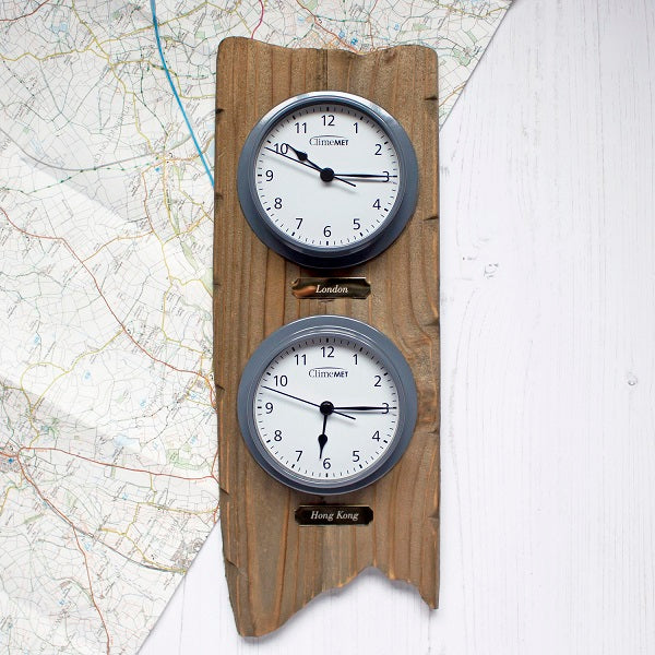 Long Distance Double Clock Set