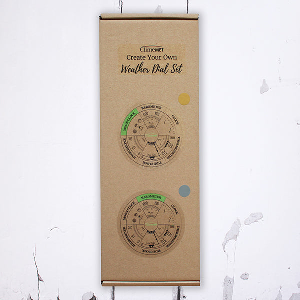 Create Your Own Eco Weather Dial Set
