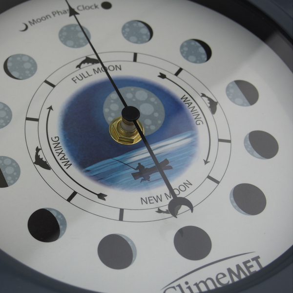 Cm4610 night fishing moon phase clock climemet for Moon phases and fishing