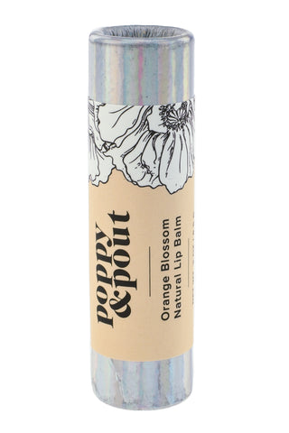 Lip Balm, Orange Blossom, Limited Edition Holographic Packaging