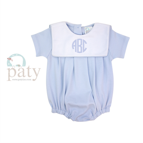 Paty Boy Bubble Suit with White Bib