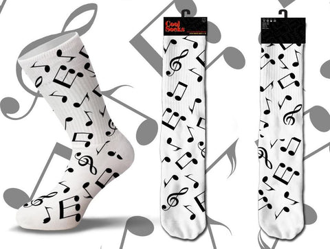 Music Notes Socks