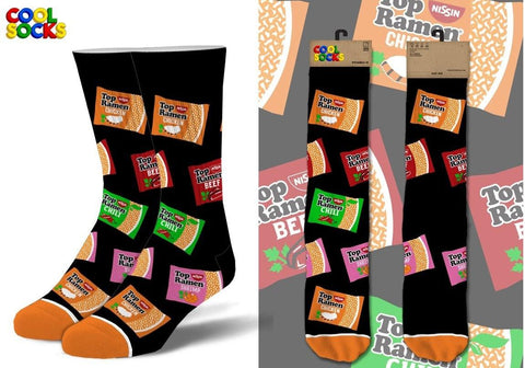 Top Ramen Flavors Socks
