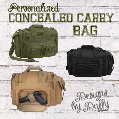 Conceal Carry Duffel Bag