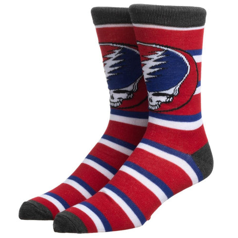 Grateful Dead - Dead Stripe Crew Sock