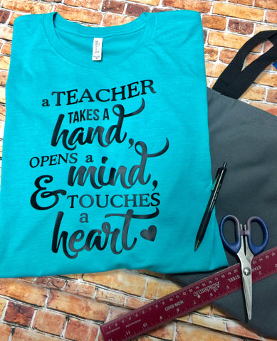 A Teacher Takes a Hand T-Shirt