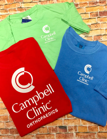 Campbell Clinic's Short Sleeve CC Tee