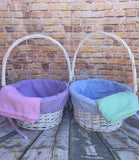 Easter Basket Liner Only with Monogram