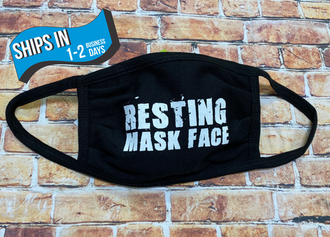Resting Mask Face Washable Face Mask - Protective Face Covering
