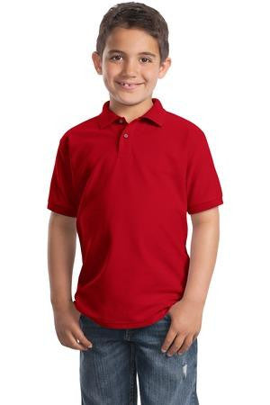 Veritas - Port Authority Unisex Youth Silk Touch Polo