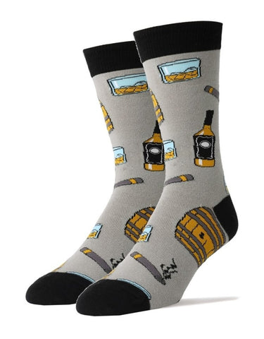 Whiskey Me - Crew Socks