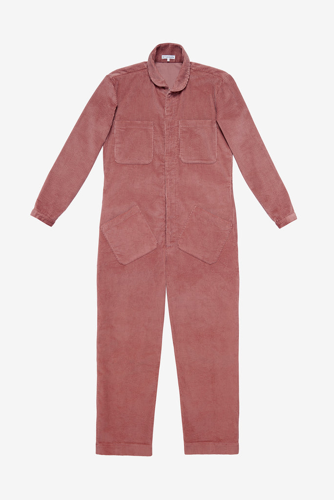 Jumpsuit in Rose Corduroy