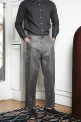 Long Pant in Slate Grey