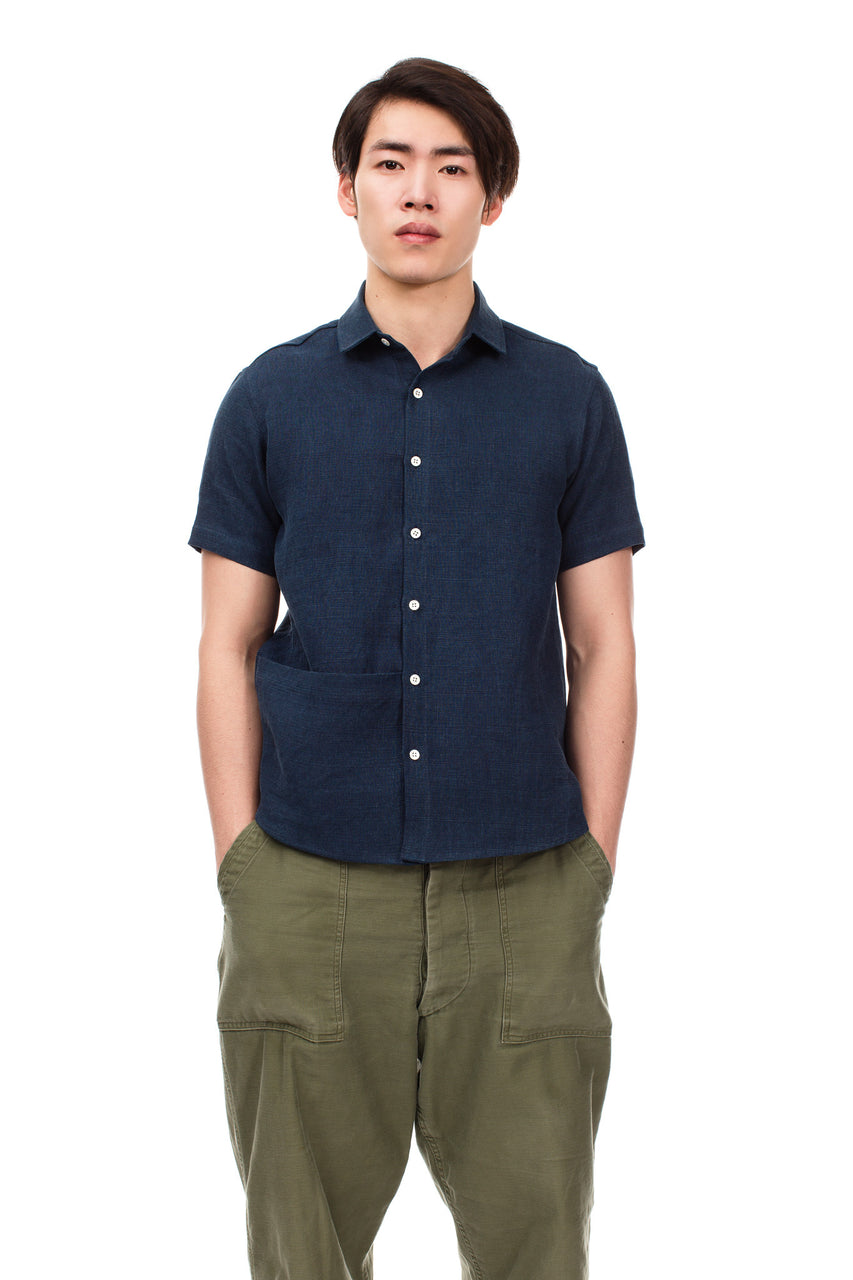 Dark Indigo Soft Pocket Shirt