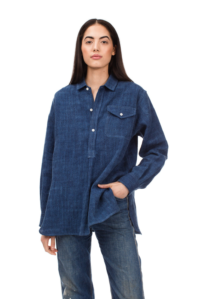 True Indigo French Shirt