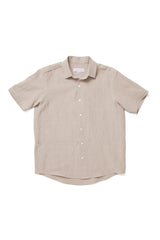Stonewashed Flax Linen Soft Pocket Shirt