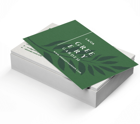 Enviro Uncoated Business Cards - PaperFormsandMore