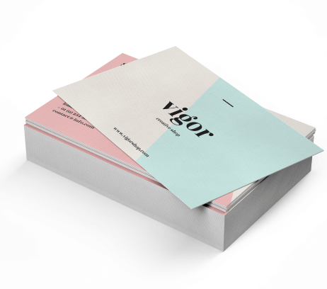 Linen Uncoated Business Cards - PaperFormsandMore