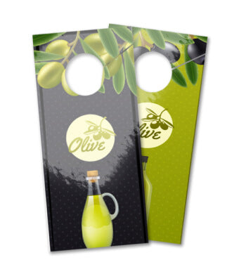 14pt + UV (High Gloss) Door Hangers - PaperFormsandMore