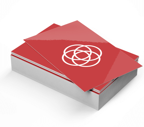 Gloss Lamination Business Cards - PaperFormsandMore