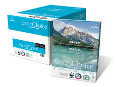 EarthChoice 8.5 *11 Copy Paper - 5000 Sheets Per Box - 20lb - 92 brightness - White - Sold By The Box - PaperFormsandMore