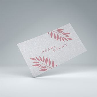 Pearl Business Cards - PaperFormsandMore