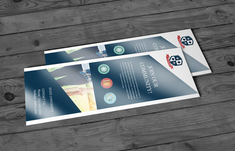 16pt + UV (High Gloss) Bookmarks - PaperFormsandMore