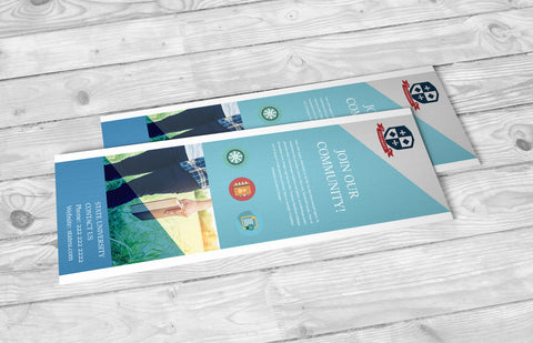 16pt Matte Lamination + SPOT UV Bookmarks - PaperFormsandMore