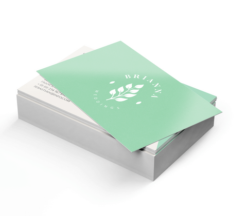 Soft Touch Business Cards - PaperFormsandMore