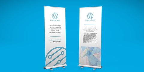 Standard Pull Up Banner - PaperFormsandMore