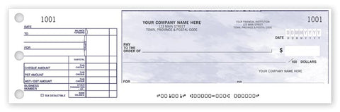 One-to-a-page Cheques - PaperFormsandMore
