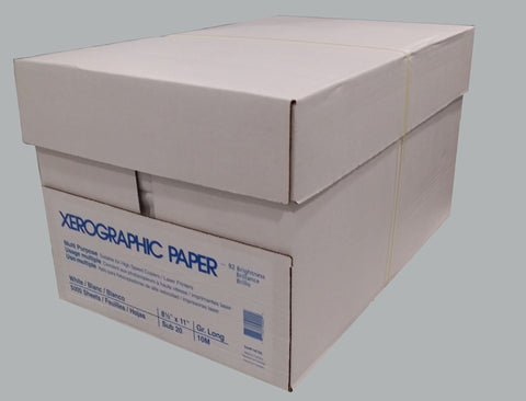 Xerographic Multi Purpose Copy Paper 8.5 *14 - PaperFormsandMore