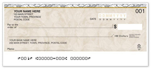 Personal Cheque-Festoon - PaperFormsandMore