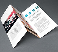 Enviro Uncoated Brochures - PaperFormsandMore