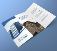 Matte Finish Brochure - PaperFormsandMore