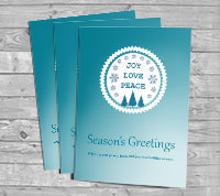 14pt + Matte Finish Greeting Cards - PaperFormsandMore