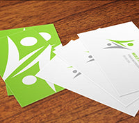 Matte Finish  Business Cards - PaperFormsandMore