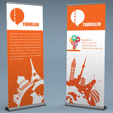 Premium Pull Up Banner - PaperFormsandMore