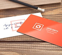 Writable + UV (C1S) Business Cards - PaperFormsandMore