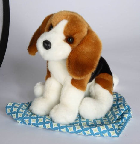 "Balthezar Beagle 12"" by Douglas Cuddle Toys"