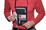 Winks Travel Neck Wallet / Stash & Passport ID Holder w/ RFID Blocking Security for Convenience, Durability …