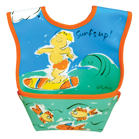 Dex Baby Dura-bib 3-12 Months Catch-all - Surf's Up