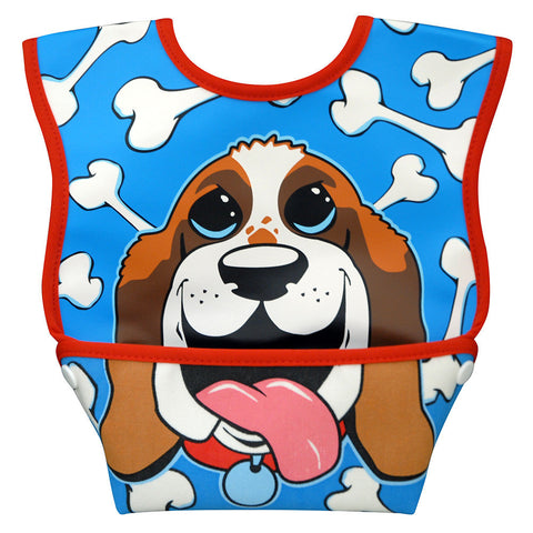 Dex Baby Dura-bib Big Mouth-3-12 Months (Bear Cub, Puppy, Bunny, Elephant)