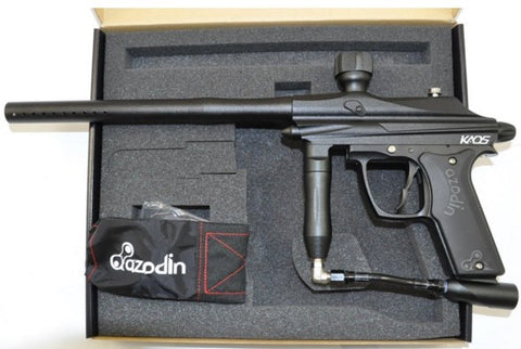 Azodin Kaos Semi-Auto Paintball Marker - Black
